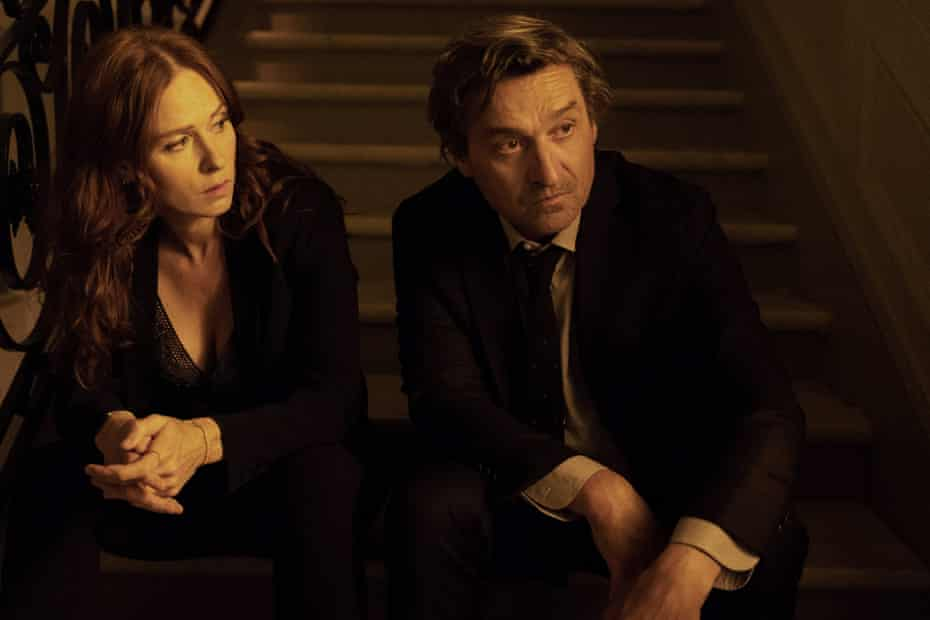 Joséphine Karlsson (Audrey Fleurot) and Eric Edelman (Louis-Do de Lencquesaing) in Spiral season eight.