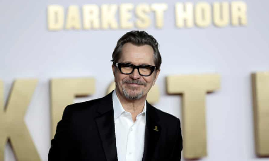 Gary Oldman, who has won best actor for his performace as Winston Churchill in Darkest Hour.
