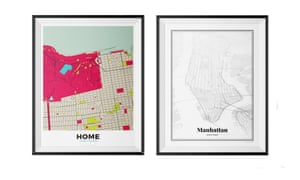 Personalised Map of absolutely anywhere, £39grafomap.com