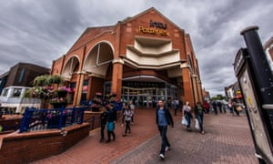 Intu Potteries in Stoke-on-Trent
