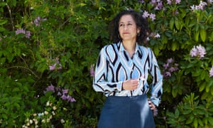 Samira Ahmed photographed last month at her home in south-west London for the Observer New Review.