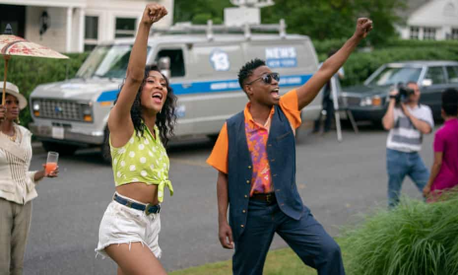 Mj Rodriguez and Billy Porter, who play Blanca and Pray.