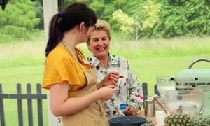 The Great British Bake Off (2018) Episode 7 Episode 7, Technical Bake; Sandi with Kim-Joy baking