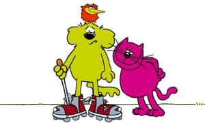 Roobarb And Custard Review Britain S Answer To Top Cat Television Radio The Guardian