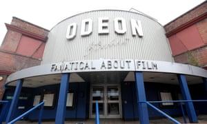 The closed Odeon Cinema on Richmond High Street.