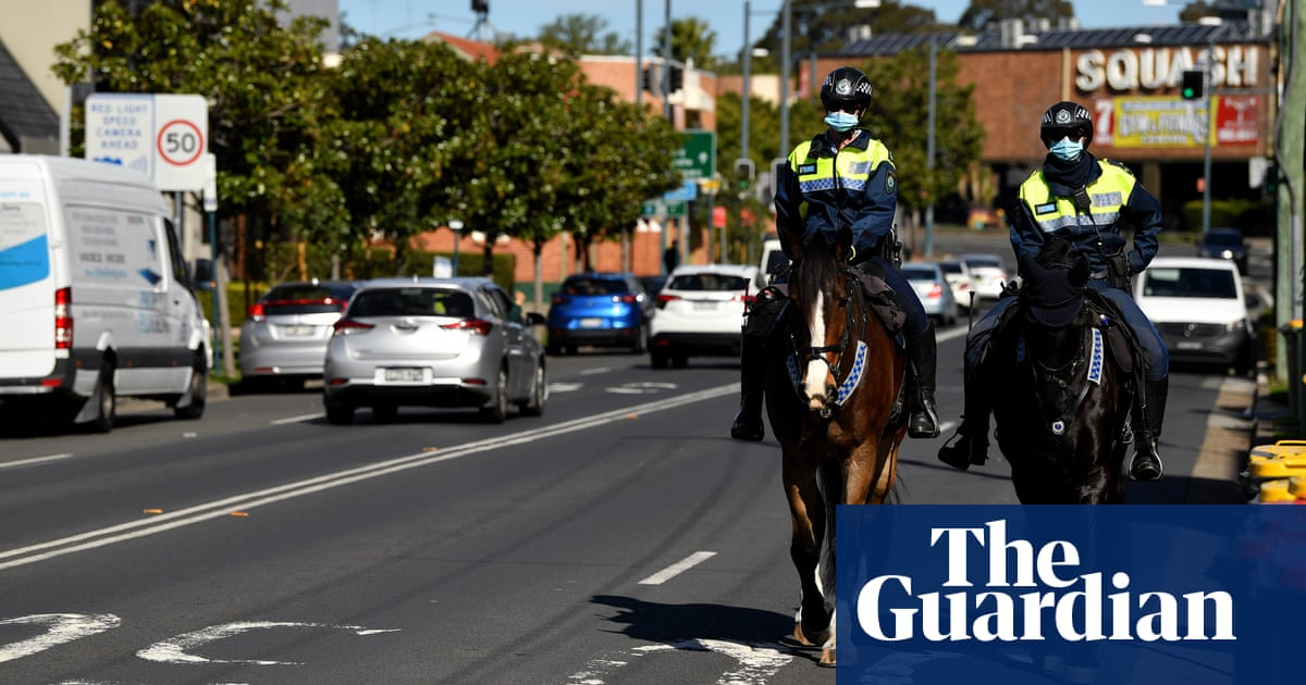 'We feel intimidated': residents in south-west Sydney Covid hotspots say police are making things worse