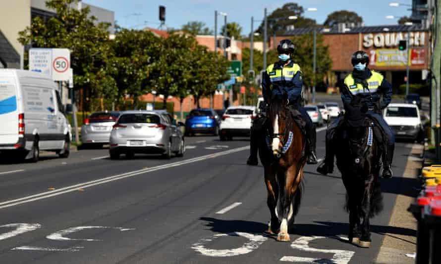 NSW police south-west Sydney