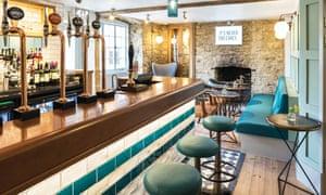 Bar at Old Stocks Hotel.