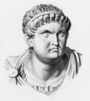 Art and madness... Nero circa 60 AD, from an engraving by Armand Durand.