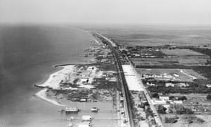 In response to African Americans' demands for a beach of their own, the city of New Orleans designated this remote, polluted section of Lake Pontchartrain as the site for a separate 'Negro beach' in 1941.