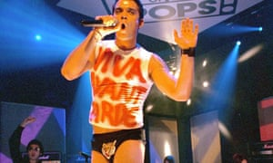 Robbie Williams on Top of the Pops