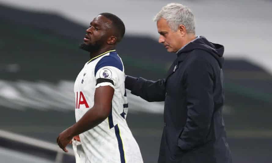 Tanguy Ndombele and José Mourinho