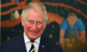 Prince Charles said on a trip to Brisbane that 'bits of me keep falling off'.