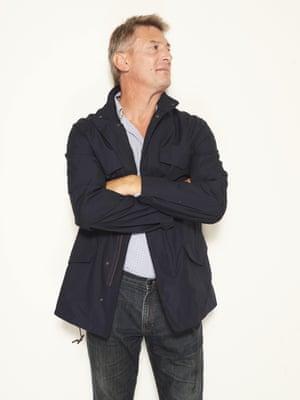Philippe Handford, 59, ArtistJacket, £169