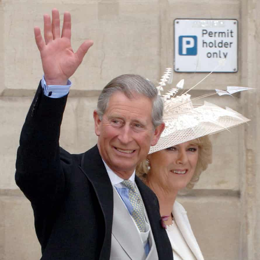 The Prince of Wales and Duches of Cornwall.