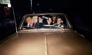 Get in the car … punks in San Francisco.