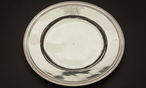 The silver plate