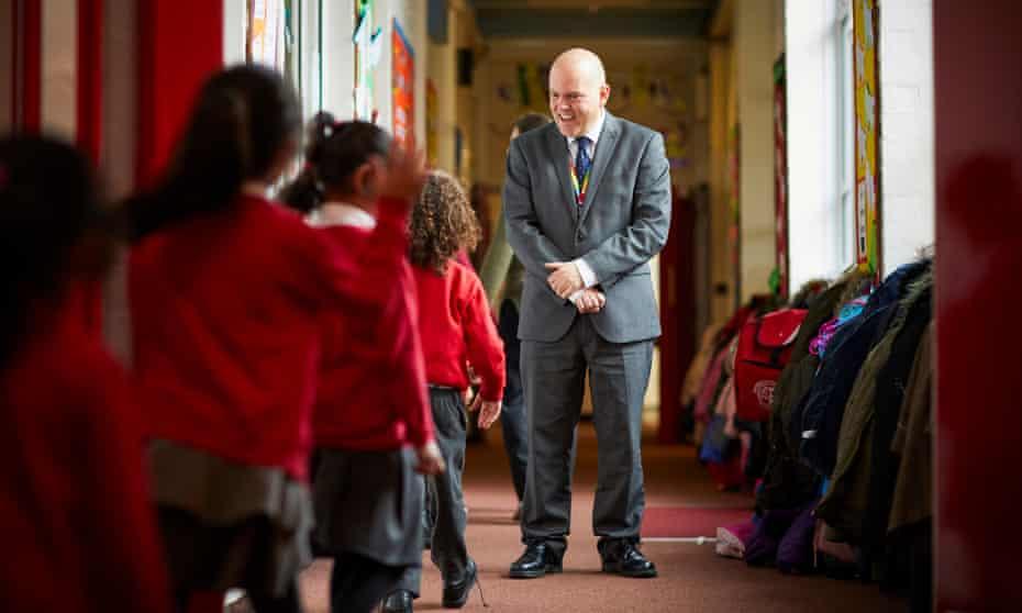 Andrew Moffat at Parkfield community school