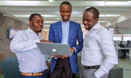 The co-founders of Jobberman
