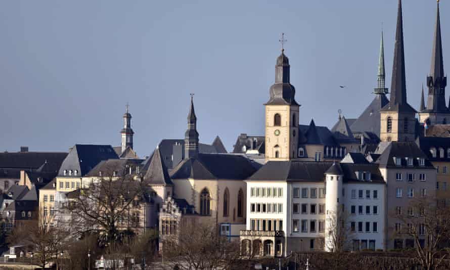 General view of the city of Luxembourg