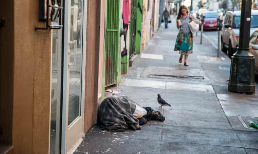 'While there aren't actually more homeless people than there have been in the past, the gentrification of San Francisco has had a severe effect on the homeless.'