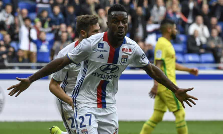 Maxwell Cornet is only 20 years old and could be a potential starter next season if, as expected, Alexandre Lacazette leaves.