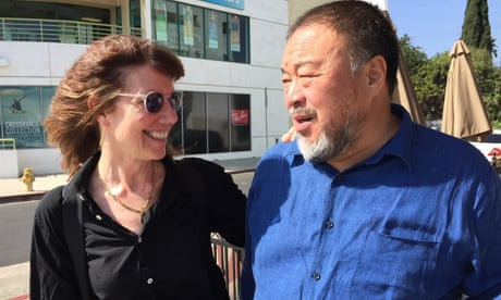 Ai Weiwei on the death of Diane Weyermann: 'Like a bridge of hope washed away in the storm'