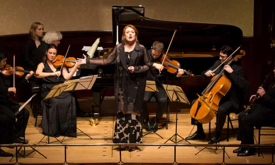 Kožená's voice glowed … Sir Simon Rattle and Friends in Concert at Wigmore Hall.