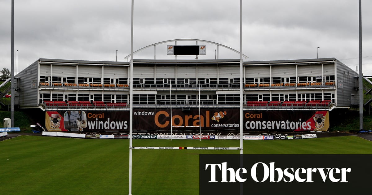 Time nearly up for Bradford's crumbling, much-loved Odsal home