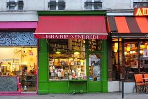 A bookshop on rue des Martys.