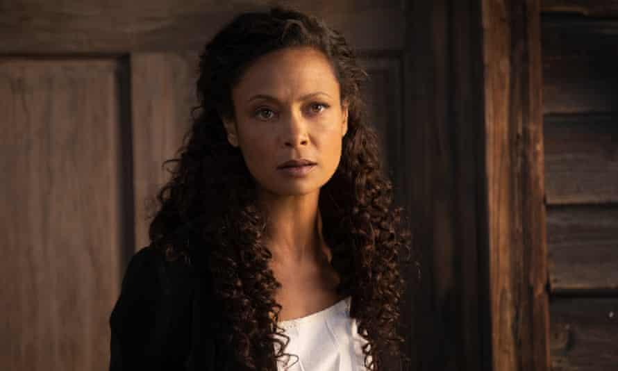 Maeve (Thandie Newton) in Westworld episode Strike the Match.