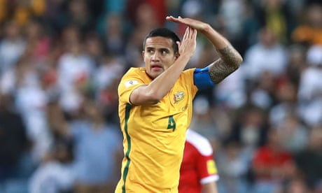 Tim Cahill may face Fifa investigation for 'sponsored' goal celebration