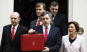 John Healey, outside No 11 before the March 2007 budget