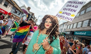 Muslim drag queen and fabulous!