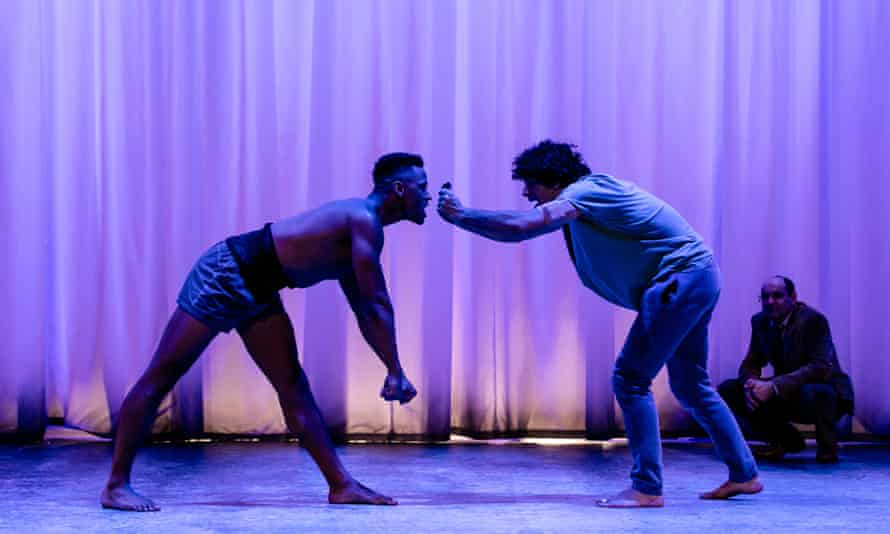 Ira Mandela Siobhan and Ethan Kai at Equus, Theater Royal Stratford East, 2019.