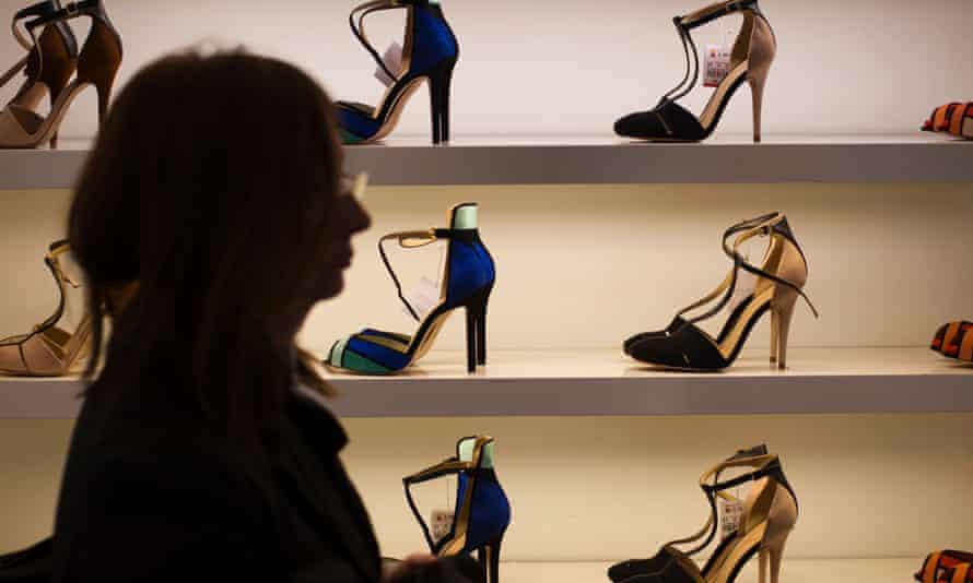 Inside A Zara Fashion Store