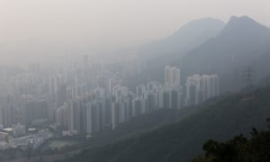 Kowloon buildings in polluted air