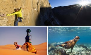 Google has mapped many places on earth, including Yosemite National Park and the Liwa desert.
