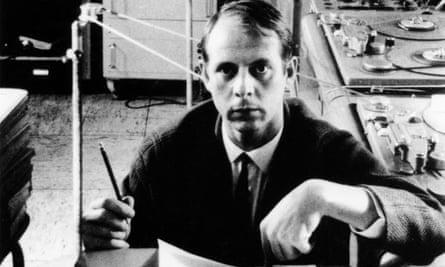 Stockhausen working on Hymnen in 1967