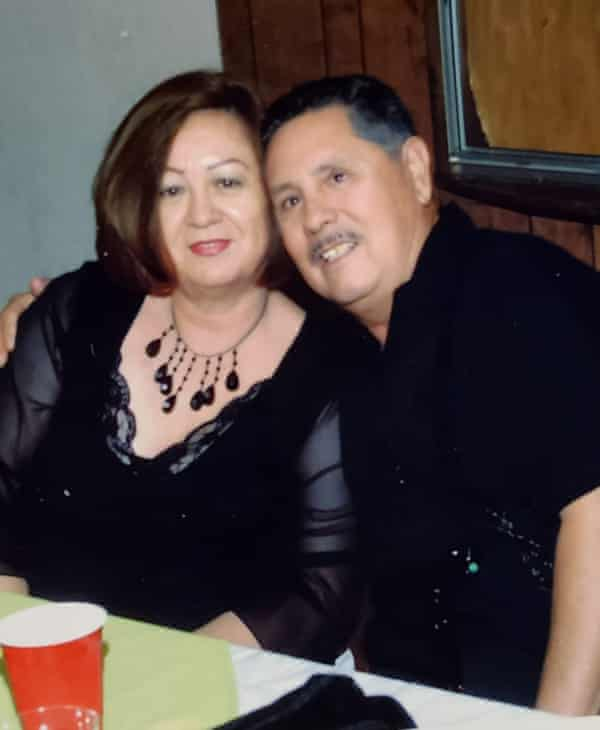 Irene Ruiz and Gilberto Beltran, Jessica's parents
