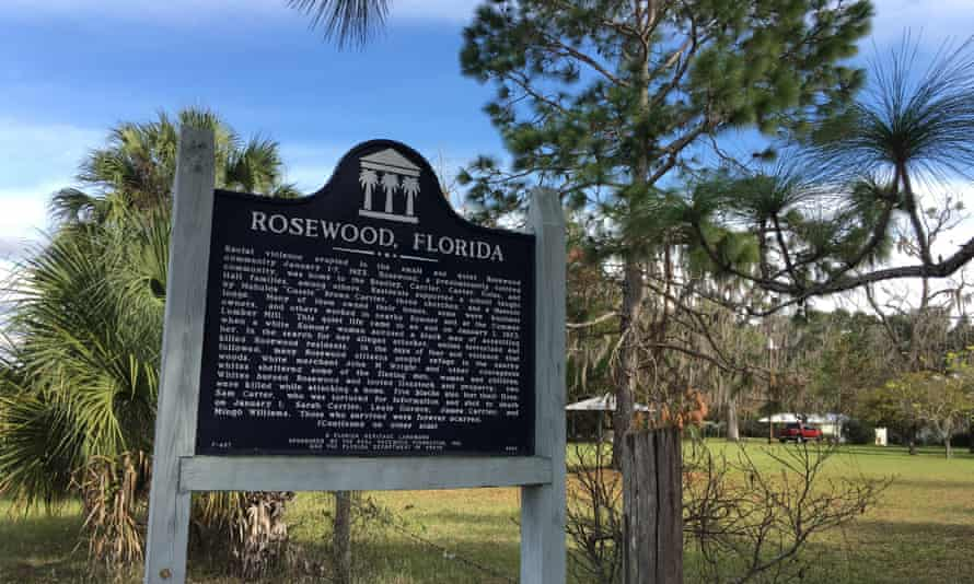 Rosewood was 37 miles south-east of Archer on the main road to the Gulf.