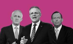 Malcolm Turnbull, Scott Morrison, Tony Abbott