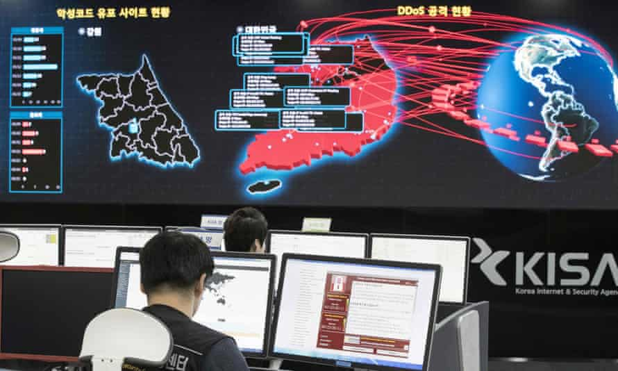 North Korea has been implicated in a number of major cyber-attacks, including the spread of Lazarus Group's WannaCry malware.