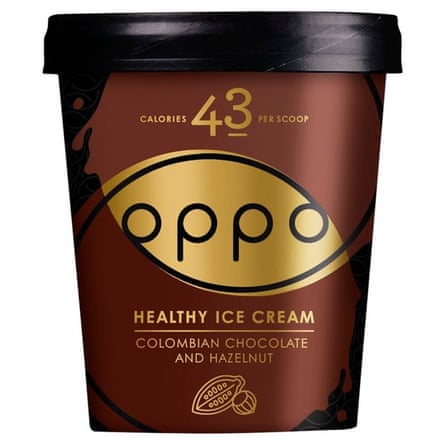 Oppo Colombian chocolate and hazelnut.