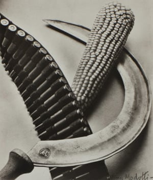 Bandolier, Corn and Sickle, 1927 by Tina Modotti, from the Tate Modern show The Radical Eye