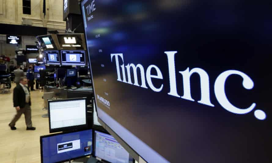 Time includes People and Fortune magazine, and now joins with the publishers of Better Homes & Gardens and Family Circle.