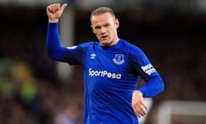 Wayne Rooney returned to his boyhood club Everton last summer