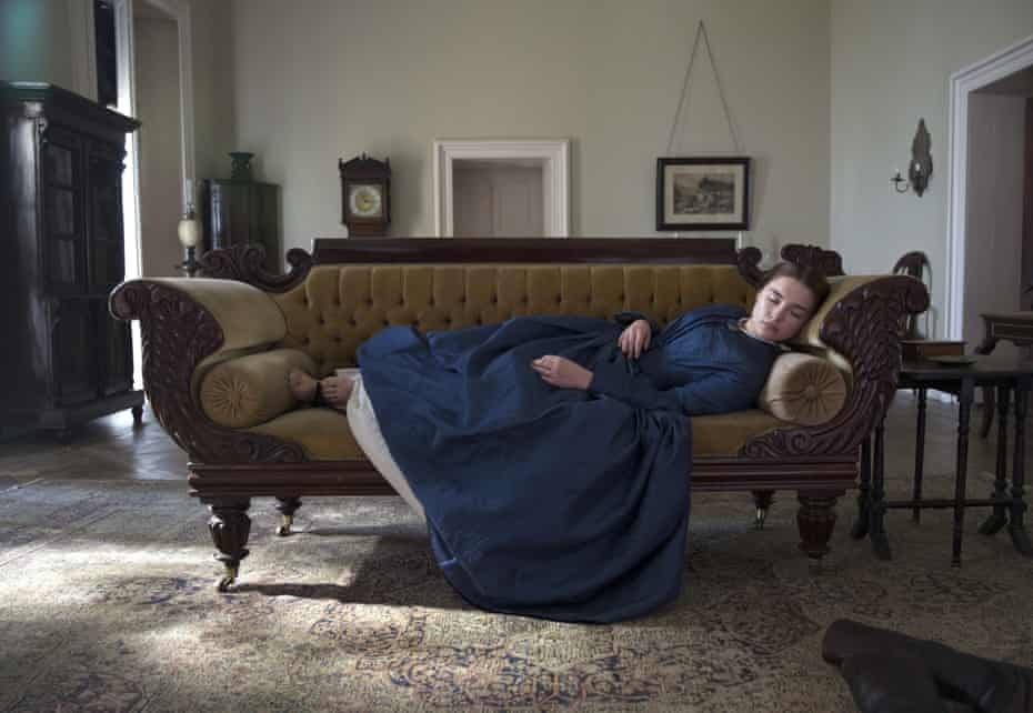 Florence Pugh as Lady Macbeth in the 2016 film