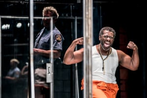 Oberon KA Adjepong as Lucius in Jesus Hopped the 'A' Train.