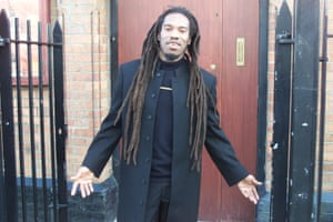 Benjamin Zephaniah at a community centre in east London in 2000.